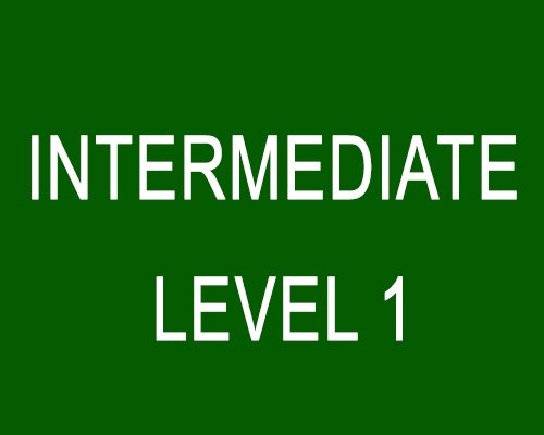 Intermediate (Level 1)