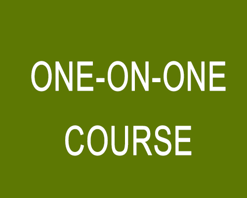 One-on-One Course
