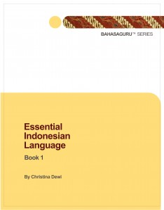 Essential Indonesian Language Book 1