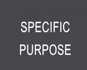 specific-purpose